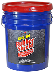 Roll-On Rubber Shield