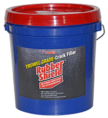 Trowel-On Crack Filler Rubber Shield